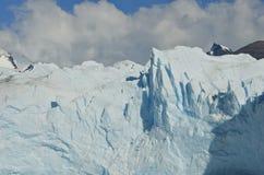Beau glacier de Perito Moreno en Argentine Photo libre de droits