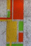 Beau graffiti d'art de rue E Image libre de droits