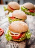 Beau grand hamburger Photo stock