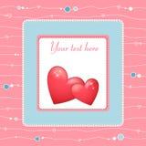 Beau heart3 Image libre de droits