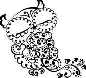 Beau hibou avec le coeur Illustration Libre de Droits