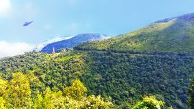 Beau Hillside - paysages photo stock