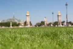 Beau jardin à Paris Image libre de droits