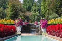 . Beau jardin énorme Image libre de droits