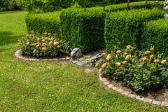 Beau jardin Photos stock