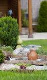 Beau jardin d'été Photographie stock libre de droits