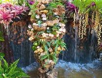 Beau jardin de fleur Fleurs mêmes photographie stock libre de droits