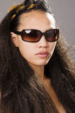 Beau jeune femme racial multi Images stock