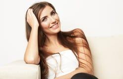 Beau jeune modèle femelle Photographie stock