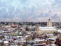Beau jour à Vilnius Image stock