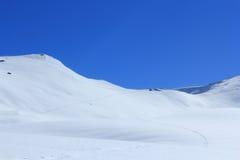 Hiver dans les montagnes Image libre de droits