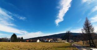 Beau jour en Bohême du sud Photo libre de droits
