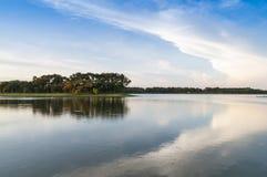 Beau lac photo libre de droits