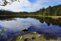 Beau lac Photo stock