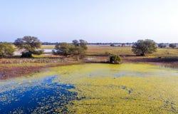 Beau lac dans le Keolado photo libre de droits