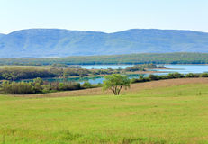 Beau lac de source Photographie stock