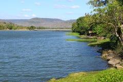 Beau lac en Thaïlande du nord Photo libre de droits
