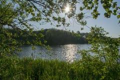 Beau lac Manvers Photos libres de droits
