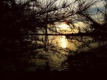 Beau lac Songkhla de paysage songkhla Thaïlande Photographie stock libre de droits
