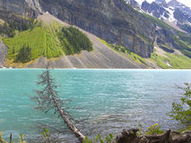 Beau lac Turqious Photographie stock libre de droits