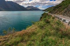 Beau lac Wakatipu Images libres de droits