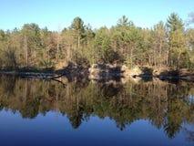 Beau lac wisconsin ! Image libre de droits