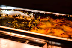 Beau lasagne Images libres de droits