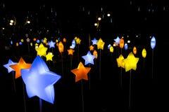 Beau latern dans la décoration pour le festival de Mi-automne images libres de droits