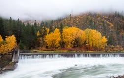 Beau Leavenworth en automne images stock
