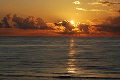 Beau lever de soleil Photographie stock