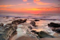 Beau lever de soleil Photos libres de droits