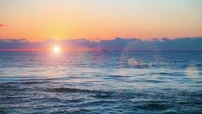 Beau lever de soleil banque de vidéos