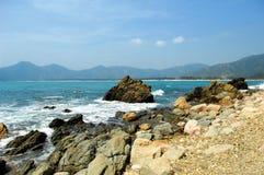 beau littoral photo libre de droits