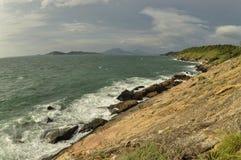 Beau littoral Images libres de droits