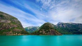 Beau littoral de l'Alaska photos libres de droits