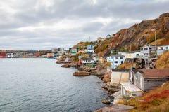 Beau littoral maritime Photo libre de droits