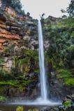 Beau Lonecreek reculé et majestueux ou chutes solitaires de crique, cascade en Sabie Mpumalanga South Africa photos libres de droits