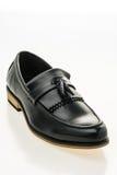 Beau luxe et chaussures en cuir occasionnelles d'hommes Photographie stock