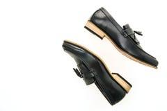 Beau luxe et chaussures en cuir occasionnelles d'hommes Photo stock
