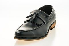 Beau luxe et chaussures en cuir occasionnelles d'hommes Images stock