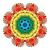 Beau mandala coloré par Deco de vecteur Photos libres de droits