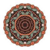 Beau mandala coloré par Deco de vecteur Image libre de droits