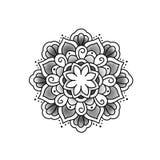 Beau mandala de fleur photographie stock libre de droits