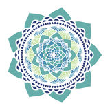 Beau mandala floral Photos stock
