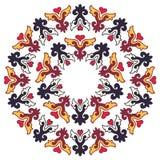 Beau mandala Modèle ornemental rond Photo stock
