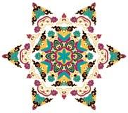 Beau mandala Modèle ornemental rond Image libre de droits