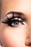 Beau maquillage d'oeil Photo libre de droits