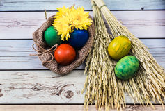 Beau matin de Pâques Photos libres de droits