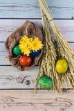 Beau matin de Pâques Photos stock