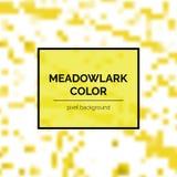 Beau Meadowlark Square Background illustration libre de droits